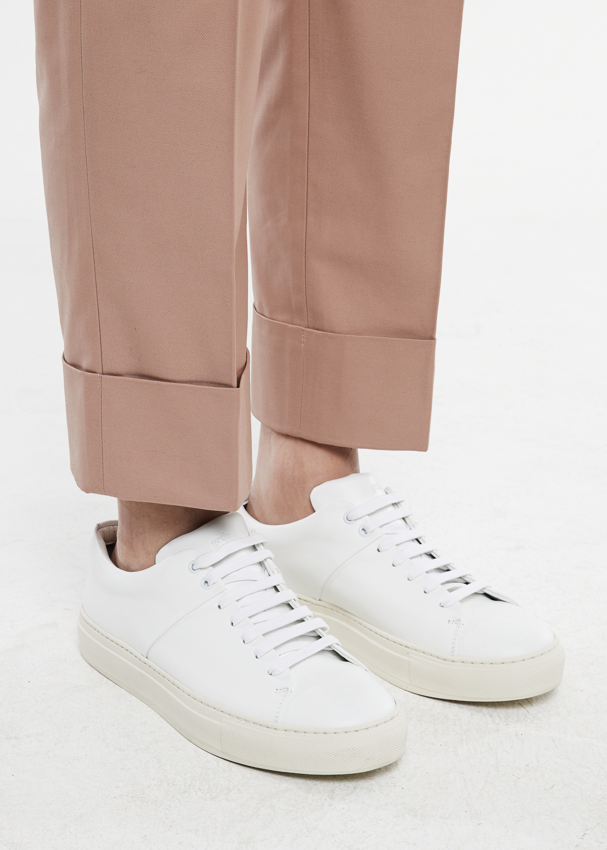 [감사세일] Turnup Chino Pants (Pink Beige)